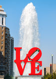 LOVE Park Royalty Free Stock Photo