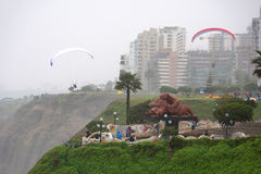 Love Park in Miraflores district, Lima, Peru Stock Images