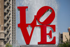 Love Park Stock Photo