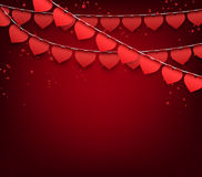 Love party celebration background. Stock Image