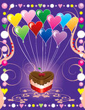 Love Party Cover Royalty Free Stock Photo