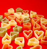 Love Pasta  Royalty Free Stock Photos