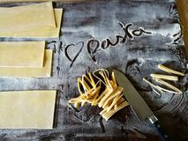 Love pasta Royalty Free Stock Image