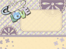 Love pastel background Royalty Free Stock Photos