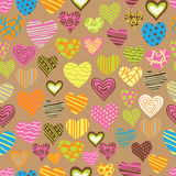 Love pattern Royalty Free Stock Images