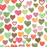 Love pattern. Seamless love pattern in vector format Royalty Free Stock Photos