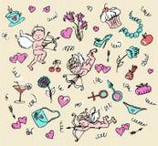 Love pattern. Stock Image