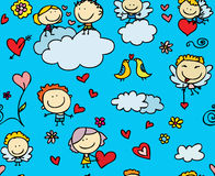Love pattern Stock Photo