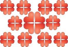 Love pattern Stock Photography