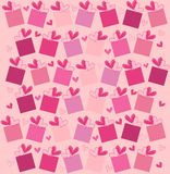 Love pattern. Vector illustration of love pattern for special occasions Stock Photography