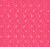 Love pattern. Vector illustration of love pattern with hearts Royalty Free Stock Photo