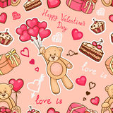 Love is pattern Stock Photography