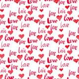 Love pattern3 Stock Image