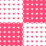 Love pattern Royalty Free Stock Photos