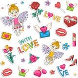 Love pattern Royalty Free Stock Photo