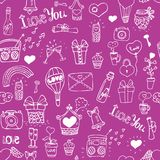 Love pattern Stock Images
