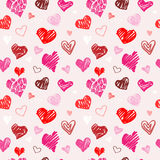 Love pattern  texture. Royalty Free Stock Photos