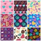 Love Patterns Royalty Free Stock Image
