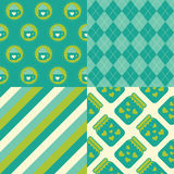 Love Patterns royalty free illustration