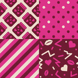 Love Patterns Royalty Free Stock Image