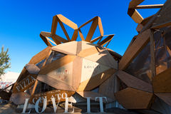 Love It Pavilion - Expo Milano 2015 Stock Photos