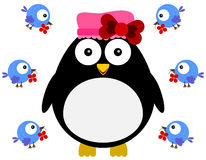 Love for a penguin Royalty Free Stock Images
