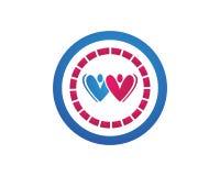 Love people logos stock illustration
