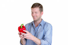Love Peppers Royalty Free Stock Photos
