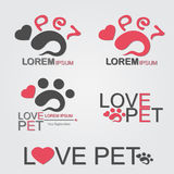 Love Pet Stock Photo