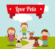 Love pets Stock Photos