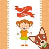 Love pets. Design, vector illustration eps10 graphic stock illustration
