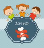 Love pets Stock Images