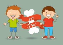 Love pets. Design, vector illustration graphic stock illustration