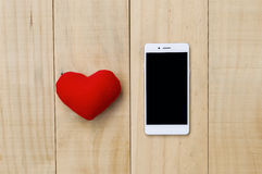 Love phone Stock Images