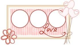Love Photo Frame Stock Photos
