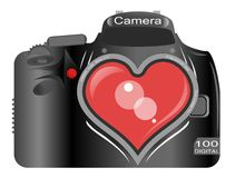 Love for Photography Royalty Free Stock Images