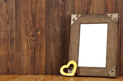Love-picture frame Stock Images