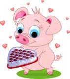 Love_pig Immagine Stock Libera da Diritti