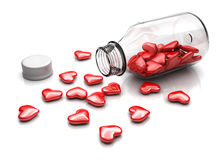 Love pills Stock Photography