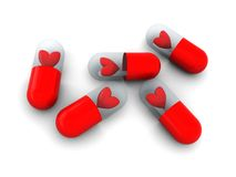 Love pills Royalty Free Stock Images