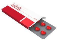 The love pills Stock Image
