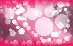 Love pink bokeh. Abstract wallpaper of love and hurt with dark gradient shade Royalty Free Stock Photos
