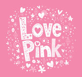 Love Pink Royalty Free Stock Images