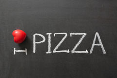 Love pizza Royalty Free Stock Image