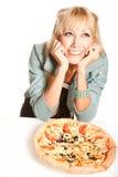 Love pizza! Stock Photos