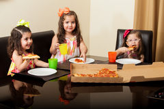 We love pizza! Stock Photo