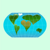 Love planet Stock Photo