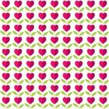 Love plant pattern design Stock Images
