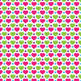 Love Polkadot Background Pattern Royalty Free Stock Photography