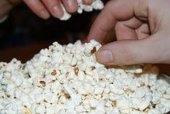 Love popcorn Royalty Free Stock Photos